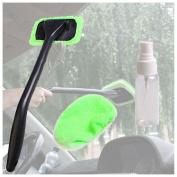 Microfiber Windshield Clean Car Auto Wiper Cleaner Glass Window Tool Brush Kit