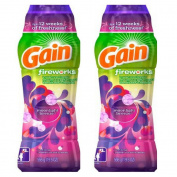 Gain Fireworks Laundry Scent Booster Beads, Moonlight Breeze, 580ml