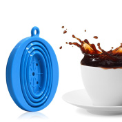 Wolecok Silicone Collapsible Coffee Filter with a Free Hook, Tea Dripper Cone, Pour over Coffee Brewer, Carafe Infuser