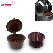 3Pcs/Lot Reusable Dolce Gusto Coffee Capsule,Plastic Refillable Compatible Dolce Gusto Coffee Filter Baskets Capsules