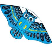 Hengda Kite For Kids 110cm Children Cartoon Owl Birds Kites with 30m Flying Line-Green
