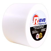 10cm X 50m White Heat Shrink Wrap Tape (1 roll) Made In The U.S.A. Impact Shrink Tape Poly Tape