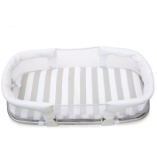 YINGER High quality Portable cot Baby bed Baby crib Infant Nest Travel Bed 0-6 months 39*15.5*43cm