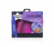 Tommee Tippee Explora Section Plates - NEW Colours