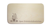 'Opas Frühstücksb Board' The Perfect Gift for Father's Day Christmas Easter or Birthday