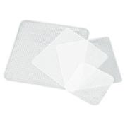 Yalulu 4Pcs Different Sizes Silicone Wrap Seal Vacuum Food Magic Wrap Multifunctional Cling Film Food Fresh Kitchen Tool