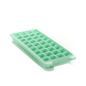 Lazy Puppy 36 Cube Soft Silicone Ice Cube Tray with Lid