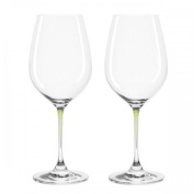 Leonardo White Wine Glass Green The Pearl