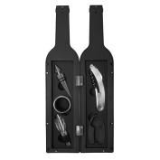Evelots 5 Pcs/Set Deluxe Wine Accessory Set