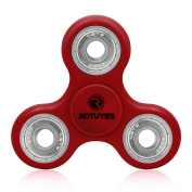 Rotuyes Fidget Spinner,Finger Toy,Relieve Stress Anxiety Boredom father Gift for Alleviating ADHD,Obsessive-Compulsive Disorder