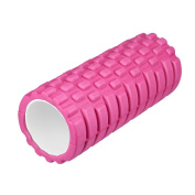"Enkeeo Foam Roller 13"" × 6"" EVA with Grid Design Muscle Rollers for Deep Tissue Myofascial Release, Sports Massage and Recovery, Trigger Point Therapy, Pilates & Yoga"