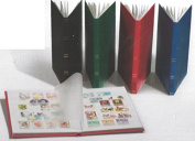 Ring Binder DIN A5, 16 white pages, padded cover, Assorted Colours