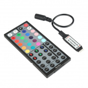 RF 44key remote, Nexlux RGB controller for multi colour changing light strip