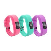 12 Colours Garmin Vivofit JR Bands With Secure Watch Clasp , BeneStellar Silicone Replacement Bands for Garmin Vivofit JR (for Kids)