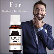 20ml Natural Beard Moustache Nourishment Oil Nursing Moisturising Conditioner by Rubyshop