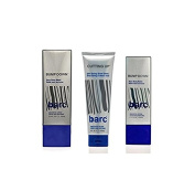 Barc Cutting Up, Unscented Shave Cream, 180ml + Bump Down Razor Bump Relie Unscented Lotion, 50ml + Bump Down Razor Bump Relief, 100ml + FREE Scunci Black Roller Pins, 18 Pcs