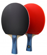 PASOL 6 Star Competitive Table Tennis Paddle Bat- Great Professional 2-Player Tournament Ping Pong Racket with Carry Bag