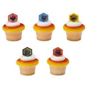 Power Rangers Morphinominal Cupcake Rings - 24 pc