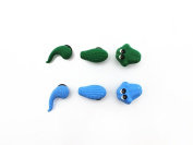 3D X 2 Shoe charms crocodile For croc shoes & Bracelet Wristband Toys Party Gifts