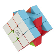 Speed Cube - the Amazing Smart Cube [IQ Tester] 3x3 - Anti Stress for Anti-anxiety Adults Kids - Best Rubix Puzzle Toy . Rubiks Cube] Turns Quicker and More Precisely Than Original