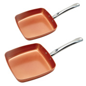 Copper Chef Fry Pan 8 and 24cm
