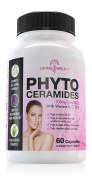 60 Capsules. Phytoceramides 100Mg From Rice. Natural Anti Ageing Skin Care Supplement with Vitamins A C D E. Promotes Hair, Skin & Cell Renewal. Helps Reduce Fine Lines, Facial Redness and Dry Skin.