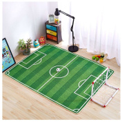 Children's Knitted Fabric Carpet Environmentally Game Crawling Non-slip Pad Soccer Playing Mats