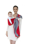 """MHUG Sling, the elegant baby carrier """"Ring Sling"""", from birth up to 15kg, MHUG, Redchic"""