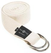 Hugger Mugger D-Ring Yoga Strap 2.4m