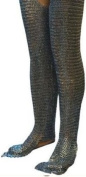 Flat Riveted Flat Washer Chain Mail Leggings Mediaeval Chainmail Chausses Leg ABS