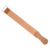 TRIXES Real Leather Straight Razor Shaving Knife Sharpening Strop