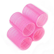 Bluelans® 6pcs X 48mm Self Grip Cling Hair Rollers Pro Salon Hairdressing Curlers, Random Colour