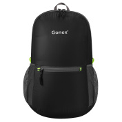 Gonex Ultra Lightweight Packable Backpack Hiking Daypack for Men and Women/ Handy Foldable Camping Outdoor Travel Cycling School Air Travelling Carry on Backpacking + Ultralight and Handy - 190ml Only + 8 Colour Choices