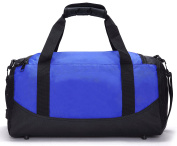 MIER Gym Bag Sports Duffel for Men and Women with Shoe Compartment, 25L