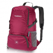 TOMSHOO 30L Backpack Foldable Packable Ultra Lightweight Tear & Waterproof Water-resistant Nylon Handy Backpack Travel Trekking Bag Hiking Dayback Holiday Bags Outdoor