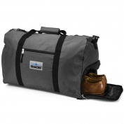 Shacke's Travel Duffel Express Weekender Bag – Carry On Luggage with Shoe Pouch
