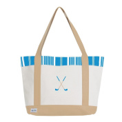 Ame & Lulu Golf Lover's Embroidered Women's Tote Bag