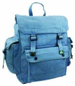 Mens Man Combat Military Rucksack Travel Back Pack Canvas Surplus Shoulder Bag