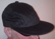 Genuine Gelert Fishing cap sun hat sports baseball Black one size shooting New