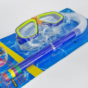CHILDREN High Quality Mask & Snorkel Set - Deluxe & Snorkelling Swimming Swim Pool GN ENTERPRISES