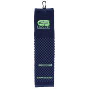 GB Tri-Fold Golf Bag Towel w/ Washing Pocket
