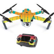 MightySkins Protective Vinyl Skin Decal for DJI Mavic Pro Quadcopter Drone wrap cover sticker skins Sherbet Palms