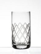 Steelite Diamond Cut 360ml Highball Glass