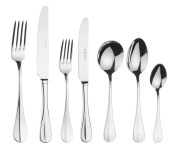 Arthur Price Baguette 44 Piece 6 Person Cutlery Set, Stainless Steel