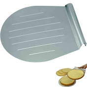 Steel Cake and Pizza Lifter 31 x 28 cm for kitchen, oven and baking by DURSHANI