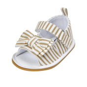 Baby Girls Shoes, Baby Girl Bowknot Sandals Shoes Casual Prewalker Sneakers Anti-slip Sole