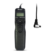 D & F RS-80N3 LCD Timer Remote Shutter Release Control for Canon EOS 5D,6D,7D,10D,20D,30D,40D,50D,EOS 5D Mark II,EOS 1D,1D Mark II,1D Mark II N,1D Mark III,EOS 1Ds,1Ds Mark II,1Ds Mark III