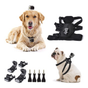Cammate Dog Harness Chest Strap Belt Mount for GoPro Session 5/GoPro Hero 5/4/3/2/HD/SJ4000/SJ5000/SJ6000 Xiaomi Yi Action Camera