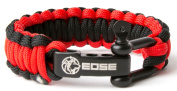 "EOSE 250kg Strength, Paracord Survival Bracelet with Stainless Steel Shackle, Adjustable Fit for 7""-8"" Wrists"