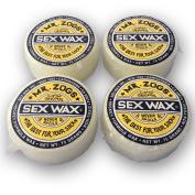 Mr. Zog's Sex Wax Hockey Stick Wax, 4 Pack